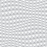 Abstract 3d white geometric background. White seamless texture with shadow. Simple clean white background texture. 3D Vector interior wall panel pattern stock illustration