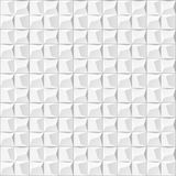 Abstract 3d white geometric background. White seamless texture with shadow. Simple clean white background texture. 3D interior wal Royalty Free Stock Images