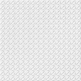 Abstract 3d white geometric background. White seamless texture with shadow. Simple clean white background texture. 3D Vector inte Royalty Free Stock Photography