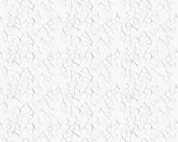 Abstract 3d white geometric background. White seamless texture w. Ith shadow. Simple clean white background texture. 3d render royalty free illustration