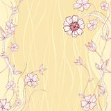 Abstract Daisy Flower. Illustration of Abstract Daisy Flower Background Royalty Free Stock Images