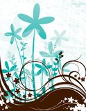 Abstract Daisy Scene Stock Images