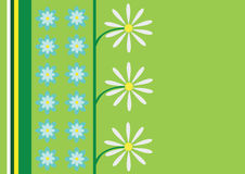 Abstract daisy vector background Stock Photos