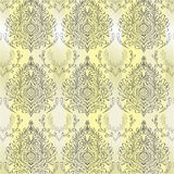 Abstract damask background. For design use Stock Image