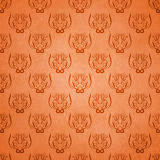 Abstract damask grunge background Stock Photos
