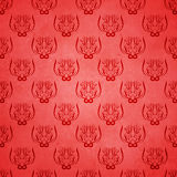 Abstract damask grunge background Stock Images