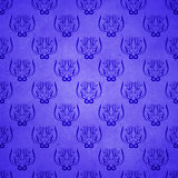 Abstract damask grunge background Stock Photography