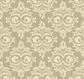 Abstract damask pattern royalty free illustration