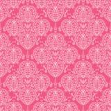 Abstract damask swirls seamless pattern background Stock Photography