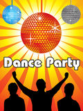 Abstract dance party design. Vector illustration vector illustration