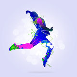 Abstract dancer Royalty Free Stock Images