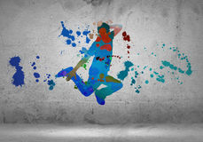 Abstract dancer Stock Images