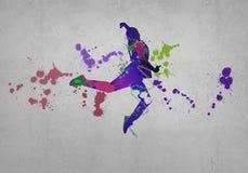 Abstract dancer Royalty Free Stock Photos