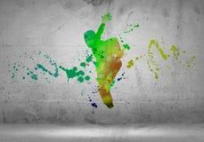 Abstract dancer Stock Photos