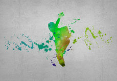 Abstract dancer Royalty Free Stock Photography