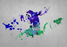 Abstract dancer Royalty Free Stock Photo