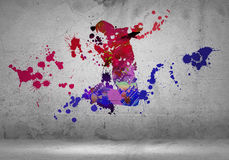Abstract dancer Royalty Free Stock Photos