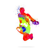 Abstract dancer Stock Photo
