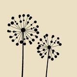 Abstract Dandalions Background Royalty Free Stock Images