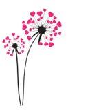 Abstract Dandelion Background Vector Illustration. EPS10 stock illustration