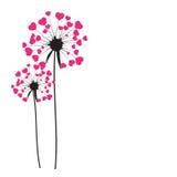 Abstract Dandelion Background Vector Illustration. EPS10 vector illustration