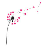 Abstract Dandelion Background Vector Illustration Stock Image