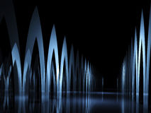 Abstract dark background Royalty Free Stock Image
