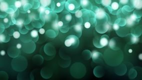 Abstract bokeh background. Abstract dark background with bokeh effects in turquoise colors Stock Photography