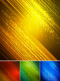 Abstract dark background with  light lines Stock Images