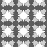 Abstract dark background in shades of gray Stock Photos
