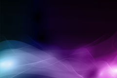 Abstract dark background with soft wavy pattern Royalty Free Stock Image