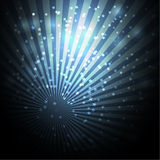 Abstract dark background with sparkles Stock Photos