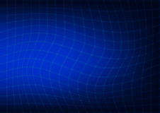Abstract dark blue background with a curved lines Stock Images