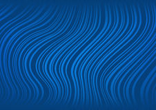 Abstract dark blue background with curved lines Stock Photos