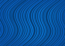 Abstract dark blue background with curved lines Royalty Free Stock Photo