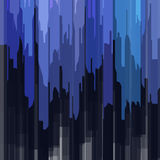 Abstract dark-blue background for design. Vector EPS10 Stock Images
