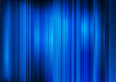 Abstract dark blue background with parallel strips Stock Photography