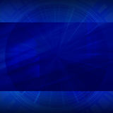 Blue dark abstract background Stock Photography
