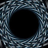 Abstract dark blue background Stock Photography