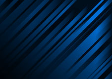 Abstract dark blue background vector template Royalty Free Stock Photos
