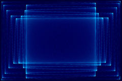 Abstract dark blue and black Stock Image