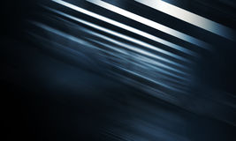 Abstract dark blue digital background. With pattern of shining blurred stripes Stock Photography
