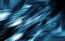 Abstract dark blue digital blurred background, 3d. Illustration Royalty Free Stock Photo