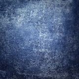 Abstract dark blue old background  with scratches. Vintage grung Stock Photography
