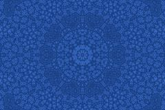 Abstract ornamental background. Abstract dark blue ornamental background Stock Photos
