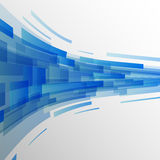 Abstract dark blue rectangles technology background Royalty Free Stock Photo