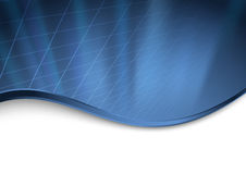 Abstract dark blue technology background Stock Photography