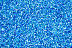 Abstract dark blue tiled water background Stock Images
