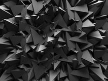 Abstract Dark Chaotic Wall Design Background Royalty Free Stock Photos