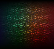 Abstract dark colorful background. Glowing mosaic of stars Stock Photos